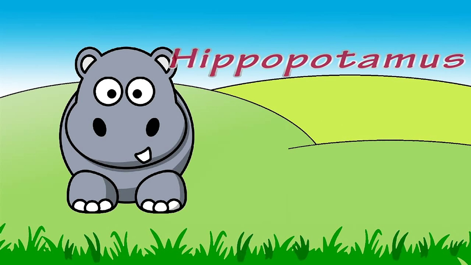Children's Favorite Animals - Learning English Animal Names | Kids Learning Video