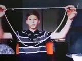 Magic Tricks 2014 best easy cool magic tricks revealed Rope Magic Trick Rope Through Neck Trick Reve