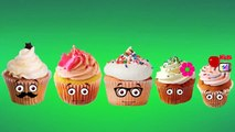 Ice Cream Cartoons Finger Family Nursery Rhymes For Children   CakePop Cupcakes Finger Family Rhymes