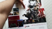 PlayStation 4 Limited Edition Metal Gear Solid V: The Phantom Pain Console