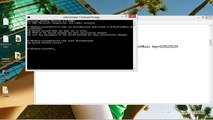 WiFi HotSpot For Windows 8.1, Windows 8 Using Command Prompt /CMD