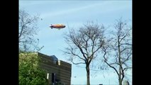 The Goodyear Blimp / airship over Wolverhampton