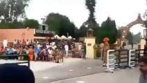 And They Are Talking About War - Indian Soldier Falls during parade at Wagah Border