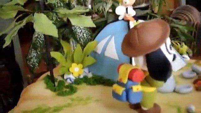 Doki Fondant Cake - www.tortasvicky.com