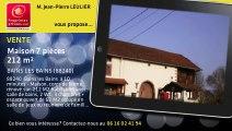 A vendre - Maison - BAINS LES BAINS (88240) - 7 pièces - 212m²