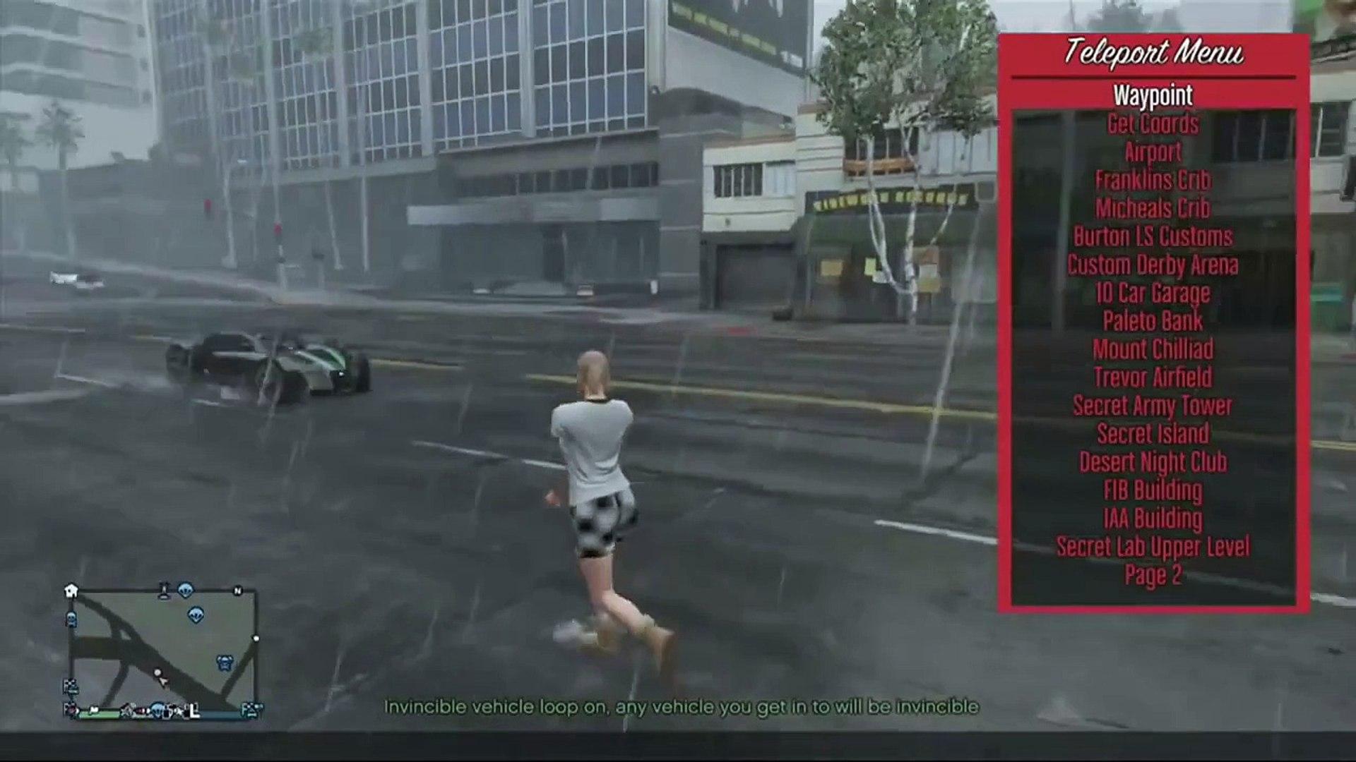 GTA V NEW ONLINE MOD MENU FOR [PS4/PS3/XONE/X360]