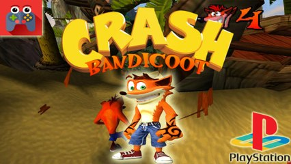 Gry Dla Dzieci- Zagrajmy W Crash Bandicoot #4: Papu Papu / Rolling Stones / PlayStation- GRAJ Z NAMI