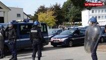 Lorient. Lycée Saint-Joseph La Salle : les gendarmes du PSIG, pour un exercice grandeur