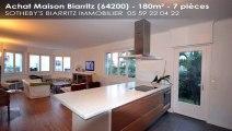 A vendre - maison - Biarritz (64200) - 7 pièces - 180m²