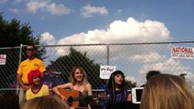 Hey Violet acoustic hangout - You Don't Love Me Like You Should - Hershey Stadium 8/29/15