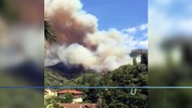 Un nouvel incendie sur les hauteurs de Menton