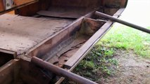Vintage trailer restoration 1957 Ranger popup trailer video