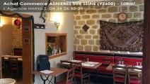 Vente - boutique - ASNIERES SUR SEINE (92600) - 108m²