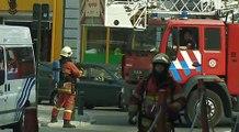 Fire in Brussels / Brand in Brussel