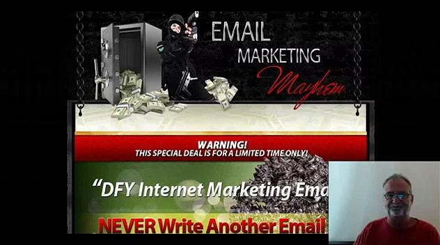 Email Marketing Mayhem Review Testimonial for Email Marketing Mayhem