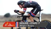 Résumé - Étape 17 (Burgos / Burgos) - La Vuelta a España 2015