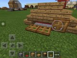 How to make a dog house on Minecraft PE