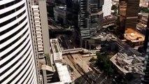 VIew from 42 floor Conrad Hotel Hong Kong