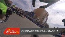 Onboard camera / Cámara a bordo - Stage 17 (Burgos / Burgos) - La Vuelta a España 2015