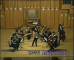 Kyung Wha Chung plays Bach violin concerto in A min(3rd Mov)