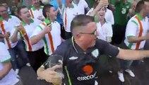 Irish Fans Going Mental in Krakow Poland part 3 (7-06-2012)