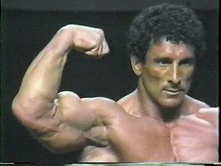 Bodybuilder Rick Poston