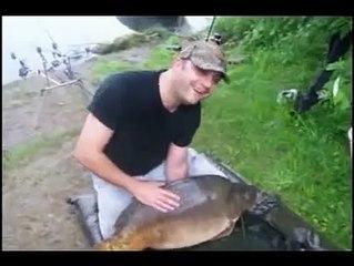 Carp fishing france