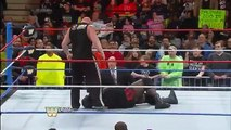 Brock Lesnar dislocates Mark Henry's elbow_ Raw, Jan. 6, 2014 WWE Wrestling