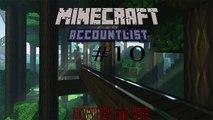 Minecraft Accounts List #10   10 Accounts!   ( 27.07.2015 ) [Kostenlos!]