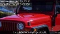 2006 Jeep Wrangler Sport 2dr SUV 4WD for sale in Santa Cruz,