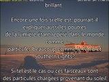 Spectacle Aurora Australis Lumière? Et  CERN Faisceaux de lumière? Étrange UFO Antarctique toujours là!
