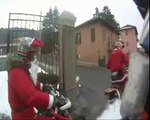 MERRY CHRISTMAS! - SANTA CLAUS on YAMAHA, KTM & HONDA - BUON NATALE!