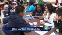 Clinic gives free mammograms screening