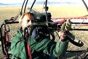 Electric Powered Paraglider inventor - Csaba Lemak - video