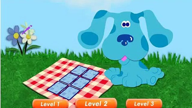 Blues Clues Full Episode: Blues Clues Investigates the Spooky House Cartoon Game