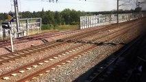 200 mph (320 kph) on board TGV Duplex departing Avignon in the south of France