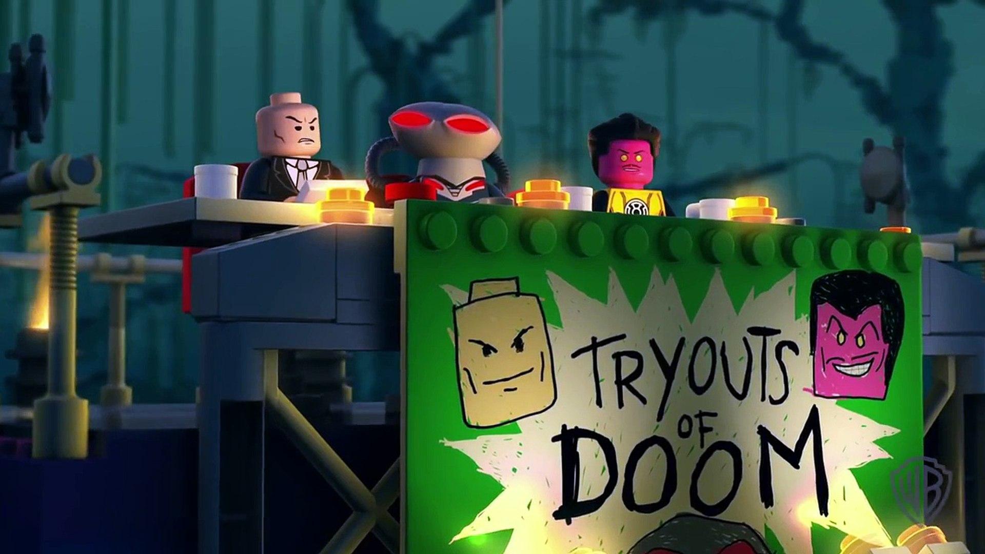 LEGO DC COMICS SUPER HEROES - JUSTICE LEAGUE: ATTACK OF THE LEGION OF DOOM Clip