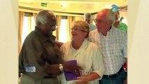 Archbishop Desmond Tutu Enjoys Cruise Travel with Cunard Line