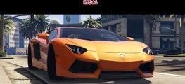 GTA 5: LAMBORGHINI AVENTADOR MONTAGE (PC MOD MONTAGE!)