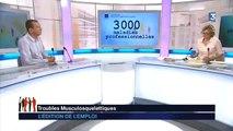 TMS : première maladie professionnelle de France - Aract Lorraine sur France 3
