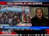 Flag hoisting  Anupam backs BJP  India   India Today   Latest Breaking News from India, World, Business, Cricket, Sports, Bollywood