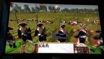 Empire: Total War: Continental Army VS British Army (DLC units) w/ music