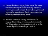 Paper Writing Tips  3 Tips to mastering Harvard style of Referencing