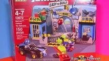 LEGO BATMAN  Batman Defend The Batcave  Lego Set with JOKER, ROBIN & Lego BATMAN VIDEO