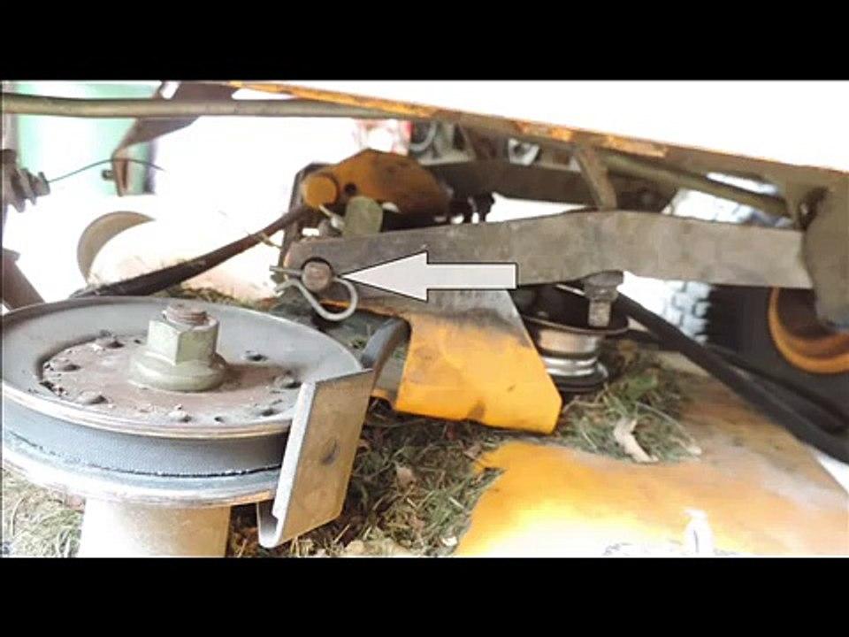 Comment Changer La Courroie Dun Tracteur Tondeuse Autoporté
