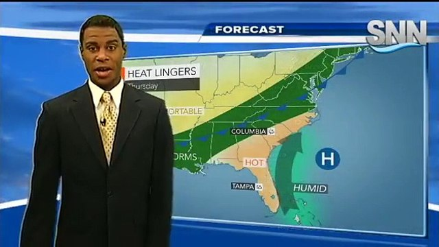 SNN: Justin Mosely's Thursday Weather Forecast