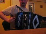 Newfoundland Button Accordion Music  Tiny Red Light