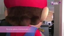 Exclu Vidéo : Super Mario Bros. : le personnage culte a fêté ses 30 ans chez Public !
