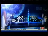 STS-135 Landing (Space Shuttle Mission) CNN Live Coverage Part 23 of 23