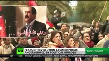 RAGE RIOTS: FEARS of REVOLUTION 2.0 in Arab Spring birthplace Tunisia IGNITED by POLITICAL MURDER!